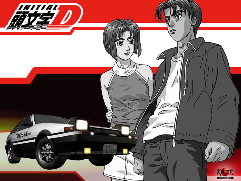 Initial D Anime Talk + Initial D 5th Stage (1/2)